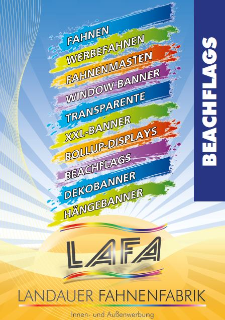 Beachflag Katalog